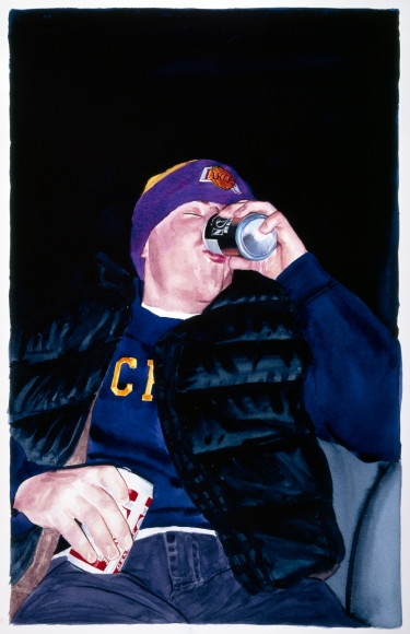 Tim Gardner, Untitled (S Drinking Beers) 1999