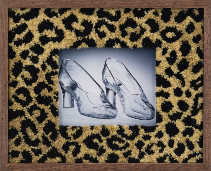 Elad Lassry, Untitled (glass shoes), 2017