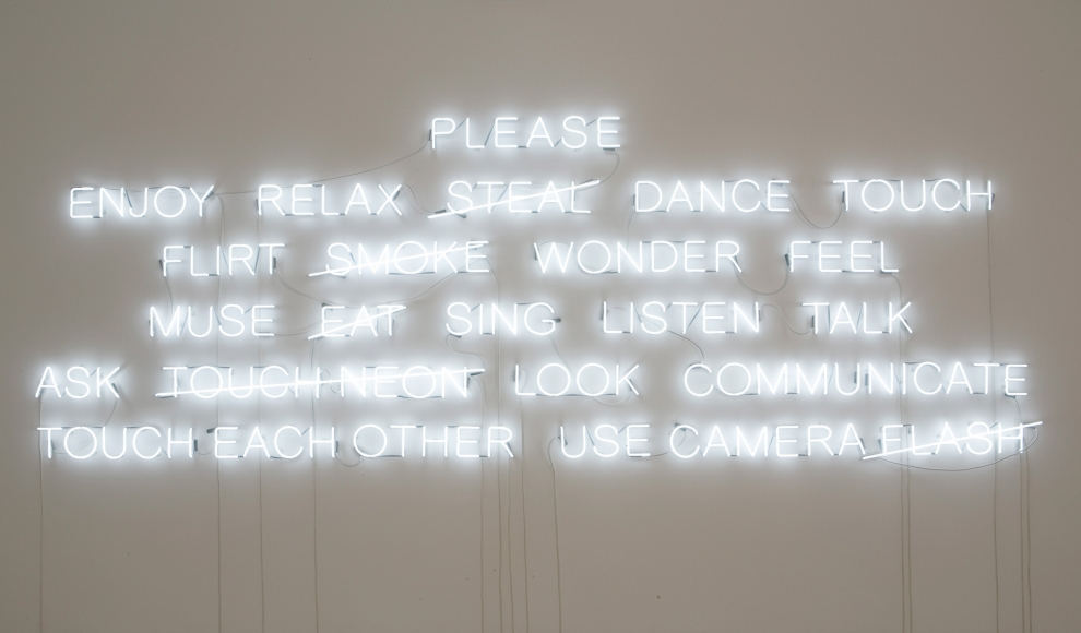 Jeppe Hein, PLEASE..., 2008