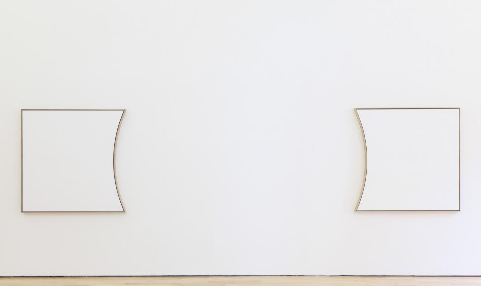 Jacob Kassay, Installation view: ICA, London, 2011