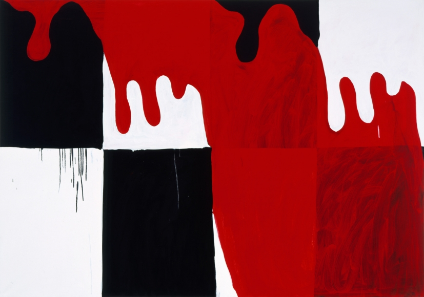 Mary Heilmann, Jack of Hearts, 2005