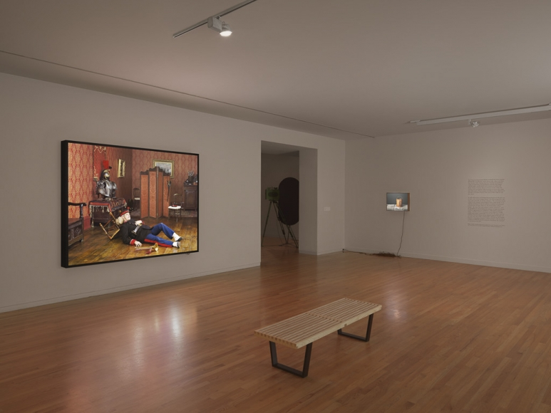 Rodney Graham, Installation view: Canadian Humourist, Vancouver Art Gallery, 2012
