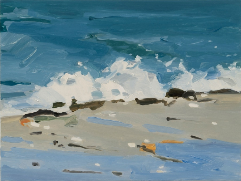 Maureen Gallace, Beach/Wave, 2013