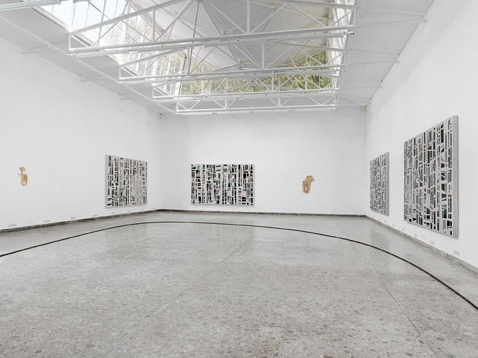 Valentin Carron, Installation view: 55th International Art Exhibition, La Biennale de Venezia, Swiss Pavilion, 2013