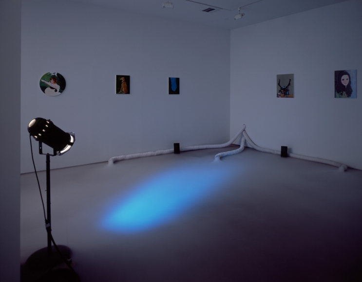 Karen Kilimnik, Installation view: The Sleeping Beauty, 303 Gallery, 1997