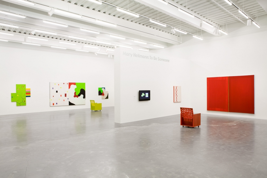 Mary Heilmann, Installation view: To Be Someone New Museum, New York, 2008