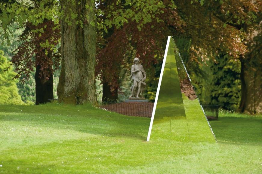 Jeppe Hein, Geometric Mirrors VI, 2011