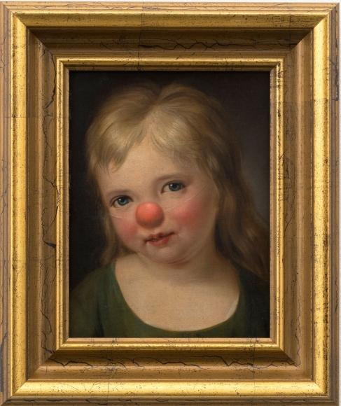 Hans-Peter Feldmann, Child with red nose