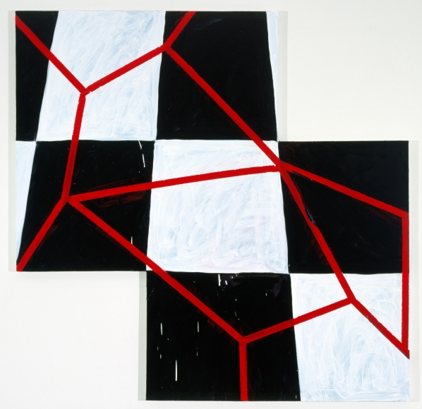 Mary Heilmann, Blood on the Tracks, 2005