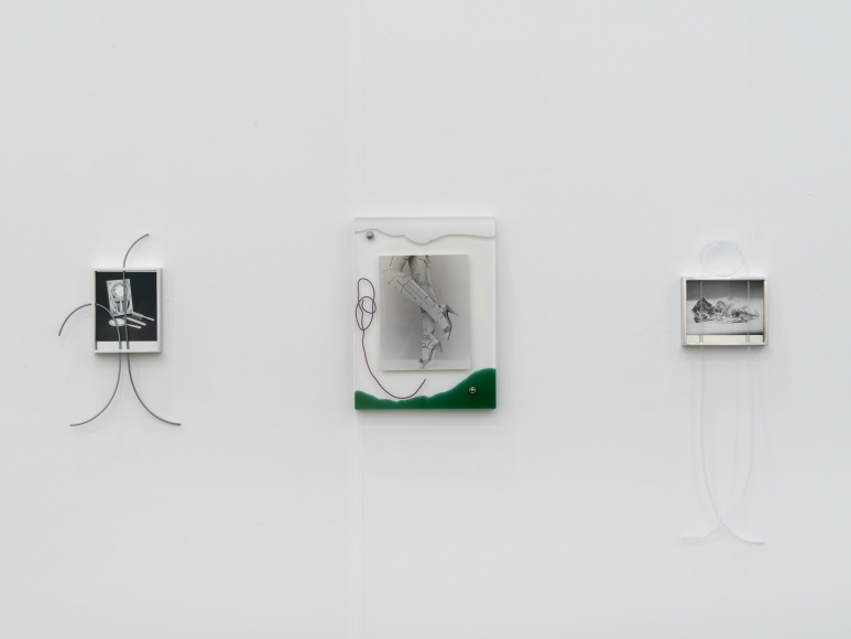 Elad Lassry, Installation view: Frieze New York, 2016