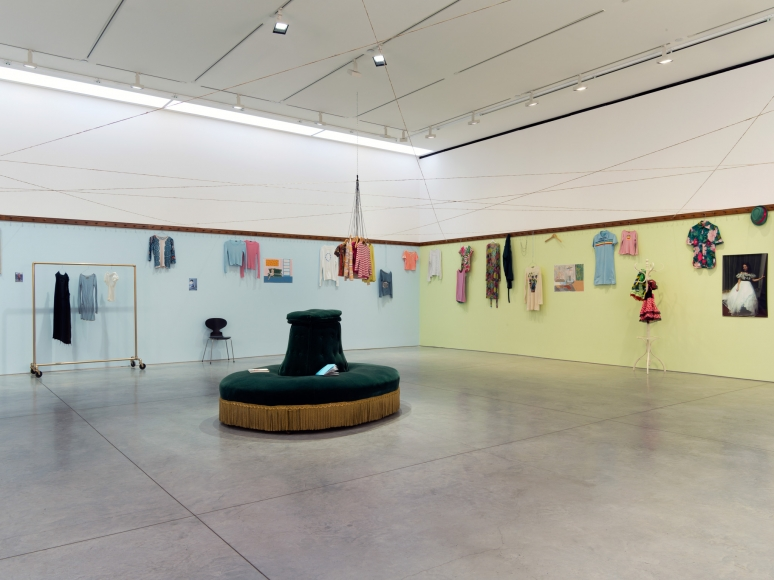 Dominique Gonzalez-Foerster, euqinimod & costumes, 2014, Installation at 303 Gallery, 2014