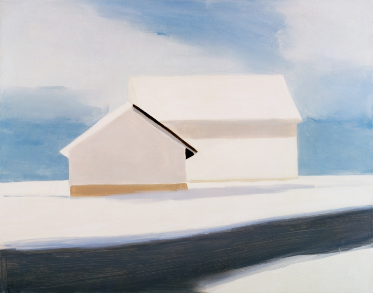 Maureen Gallace, Icy Barns, 2003