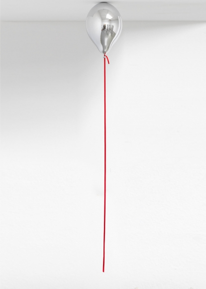Jeppe Hein, Mirror Balloon (red), 2016