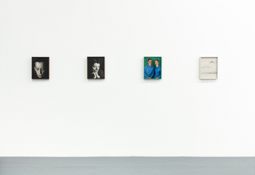 Elad Lassry, Installation view: Untitled (Presence), The Kitchen New York, 2012