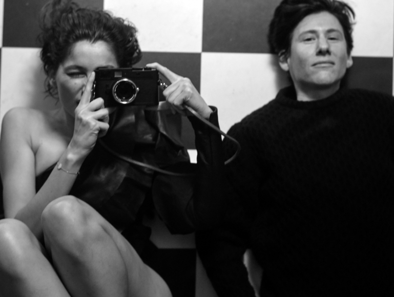 Collier Schorr, Laetitia with Leica, 2016