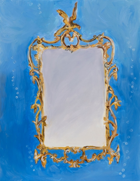 Karen Kilimnik, the mirror of the Indian Ocean, 2015