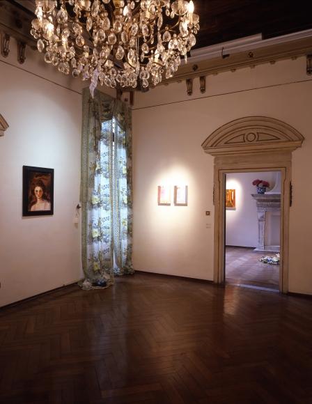 Karen Kilimnik, Installation view: Fondazione Bevilacqua La Masa, Venice, 2006