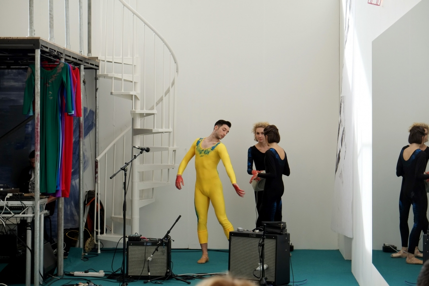 Nick Mauss, 1NVERS1ONS: A Ballet for Frieze Projects, 2014