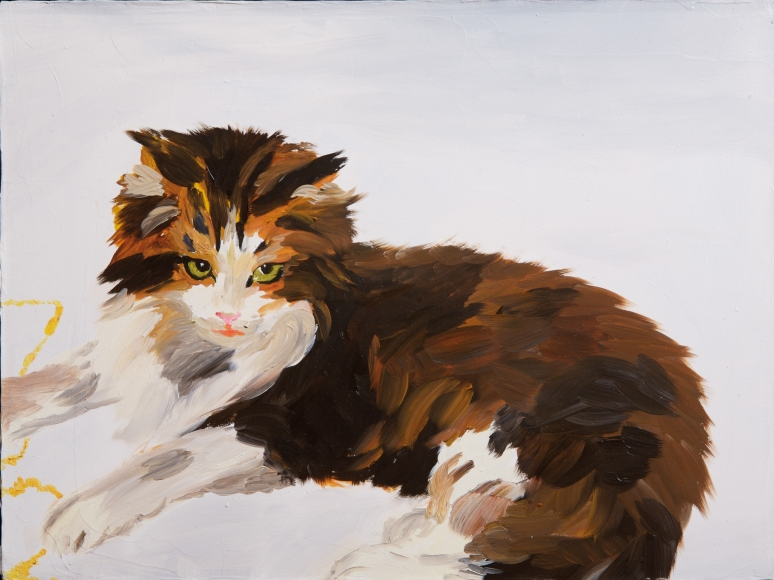 Karen Kilimnik, The Czar's Kitten, 1996