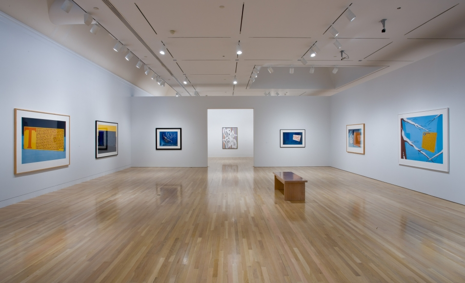 Larry Johnson, Installation view: Hammer Museum, Los Angeles, 2009