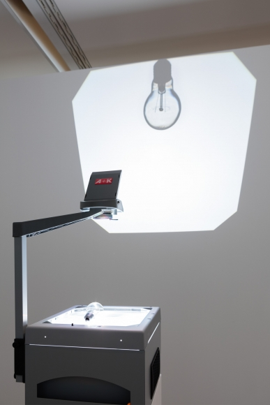 Ceal Floyer, Overhead Projection, 2006