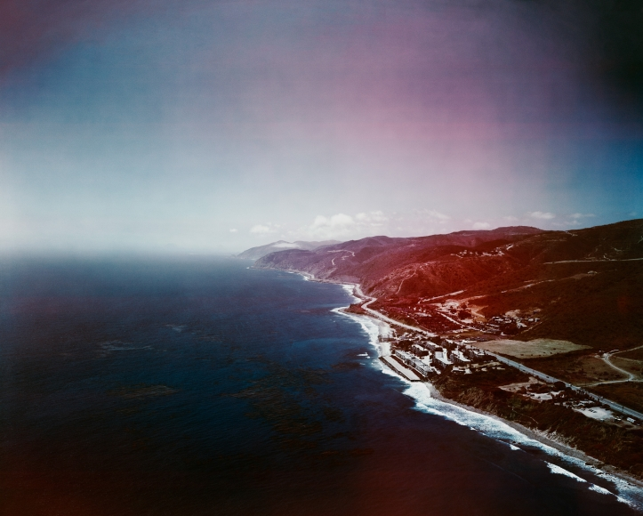 Florian Maier-Aichen, Untitled (Infrared Industries), 2011