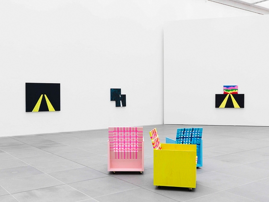 Mary Heilmann, Good Vibrations, 2013, Neues Museum Nürnberg