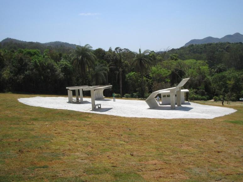 Dominique Gonzalez-Foerster, Desert Park, 2010, Permanent Installation Inhotim, Brumadinho, Brazil