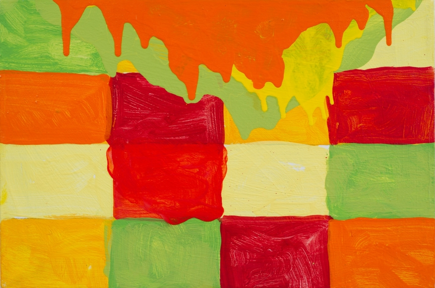 Mary Heilmann, Hawaiian Planet Study, 2008
