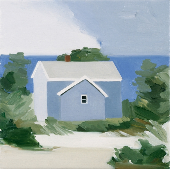 Maureen Gallace, Lake House, 2002