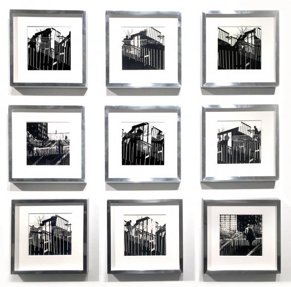 Ray Metzker Penn Center Pieces, Philadelphia, 1965