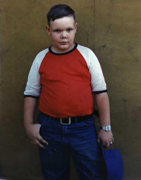 Bruce Wrighton Young Man Binghamton, NY, 1987