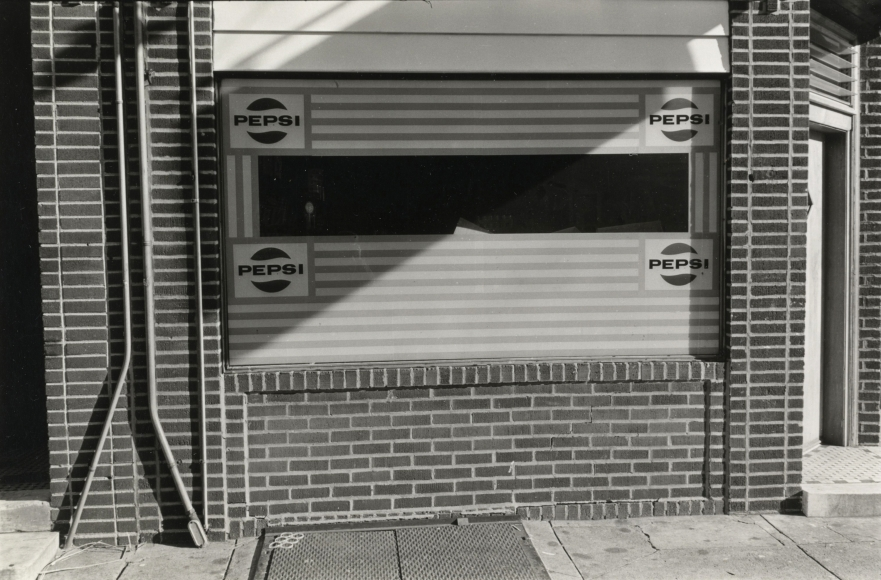 Will Brown Pepsi Store 1973