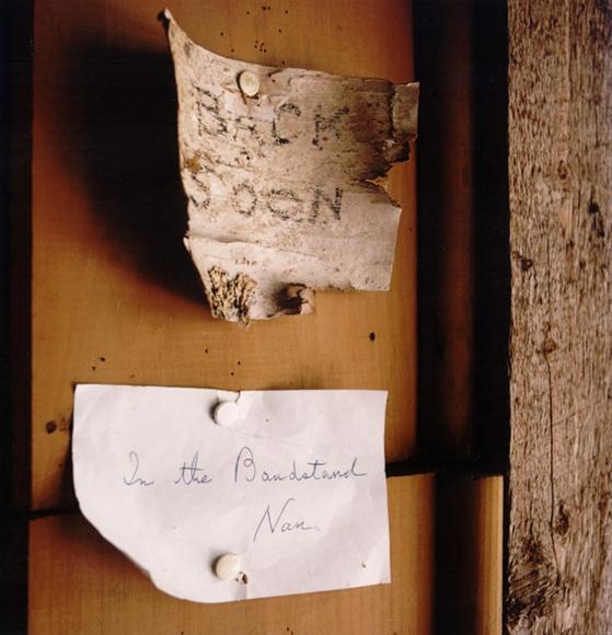David Graham Notes, Placentia Island, ME, 1995-96