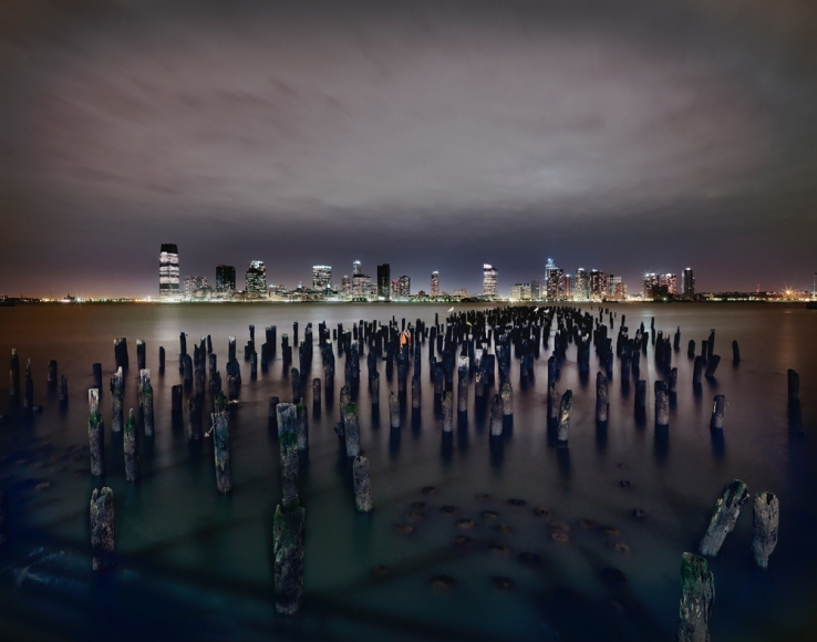 Luca Campigotto View of New Jersey across the Hudson River, 2009