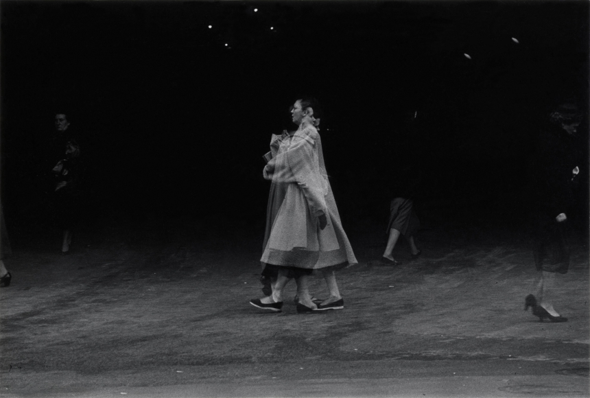 Harry Callahan Chicago (Eleanor), c. 1955
