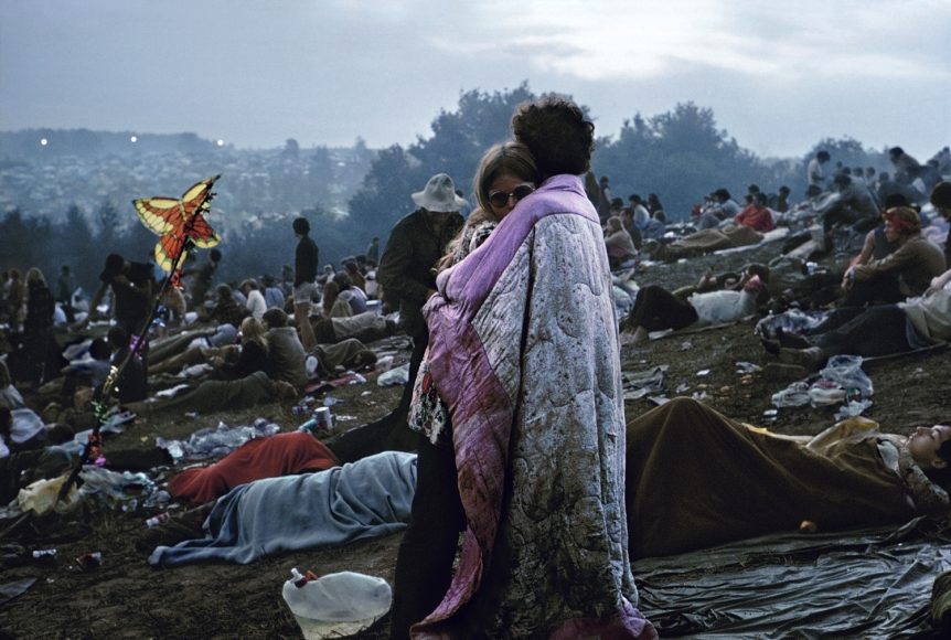 Burk Uzzle Woodstock (Ercolines), 1969