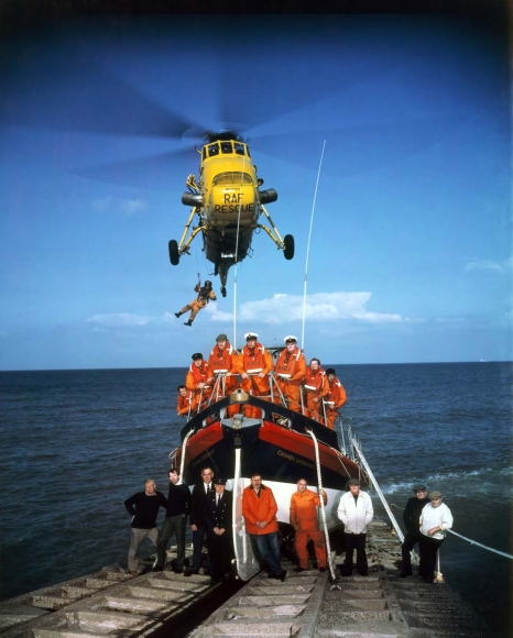 Neal Slavin Rescue Team, Royal National Lifeboat Institution, 1983