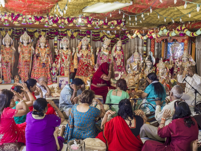 Neal Slavin Hindu Temple, Brooklyn, NY, 2016