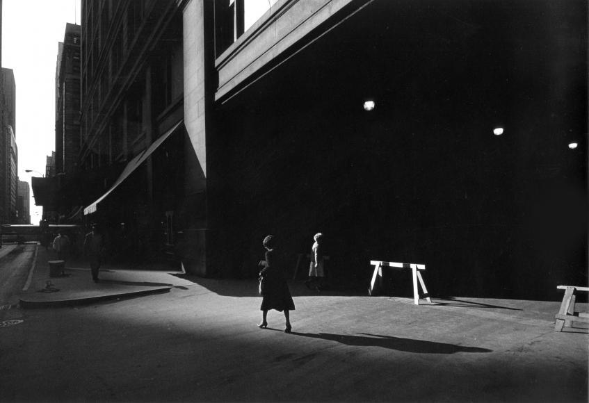 Ray Metzker City Whispers: Chicago, 1982
