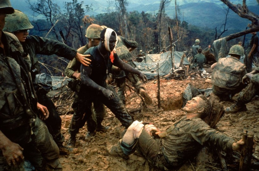 Larry Burrows Reaching Out, Vietnam, 1966