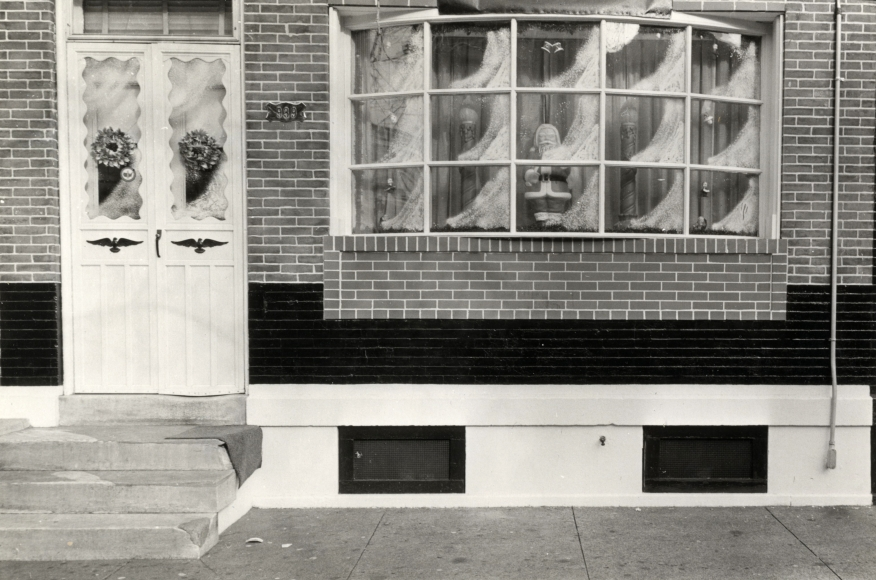 Will Brown South Philly Xmas Window 1972