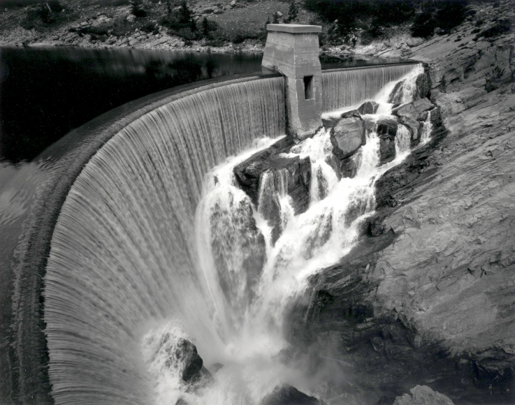 Toshio shibata Gibson Dam, Lewis and Clark County, MT 1996