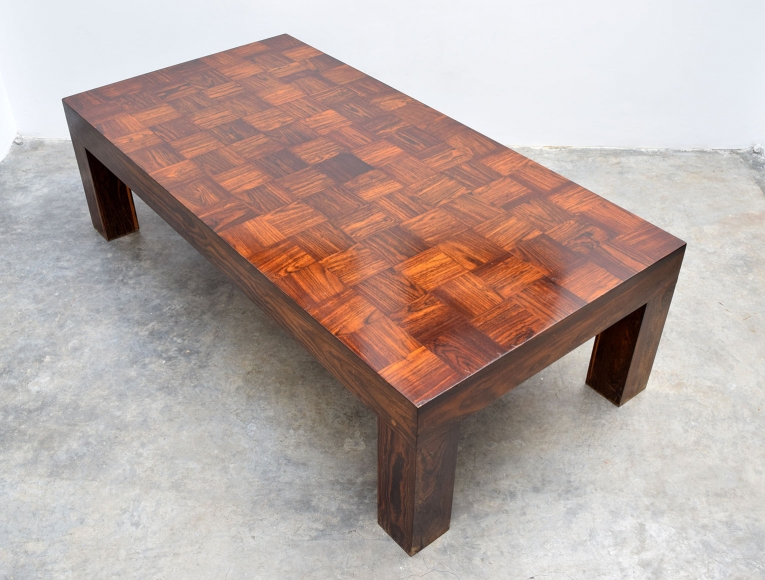 Parsons Coffee Table Don Shoemaker Collection Adn Galeria