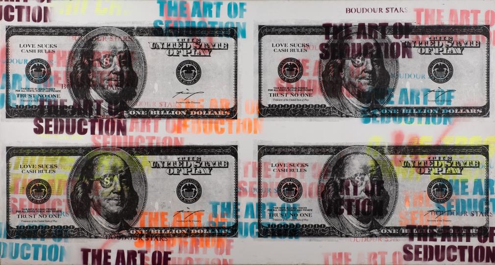Billion Dollar Bills by Max Wiedemann