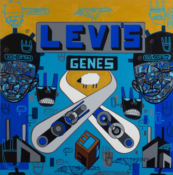 Levi's Genes by Ron Haywood Jones