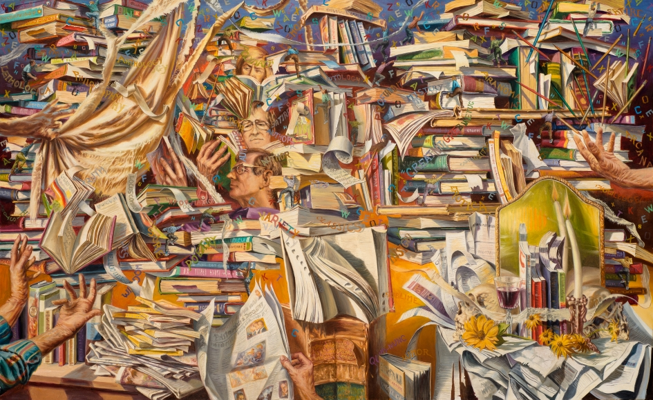 Reading Upwards by Paul Gorka