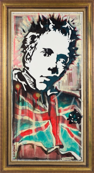 Johnny Rotten by Eric Lavazzon