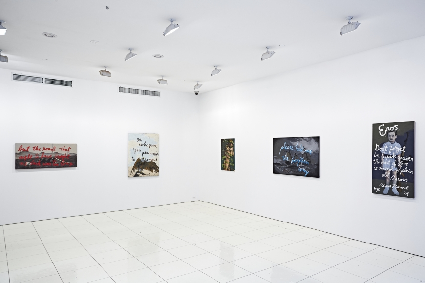 Rene Ricard @ 43 Clarkson - Installation