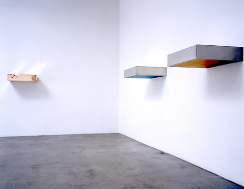 Donald judd exhibitions van de weghe for Donald judd stack 1972